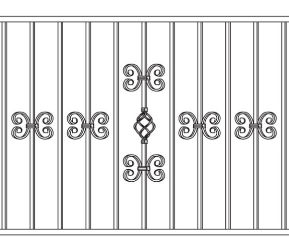 Кованые ворота эскизы фото